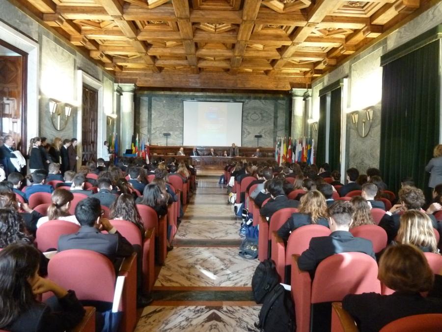 MEP del Liceo Pansini di Napoli nel 2013