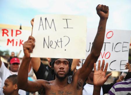 Proteste a Ferguson.