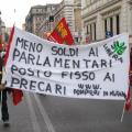 Proteste dei Vigili del Fuoco Precari