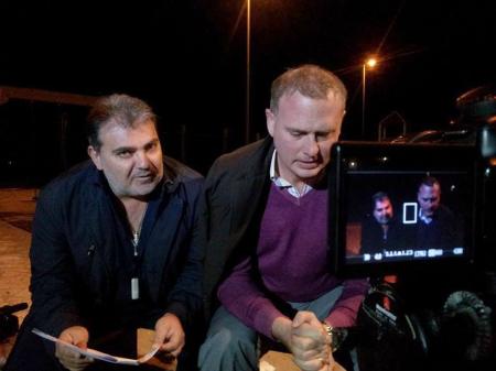 Francesco Maglioccola e Salvatore Mazzocchi in una foto di scena.