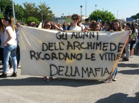 Marcia per la Pace contro la Camorra - Foto di Martina Napolano.