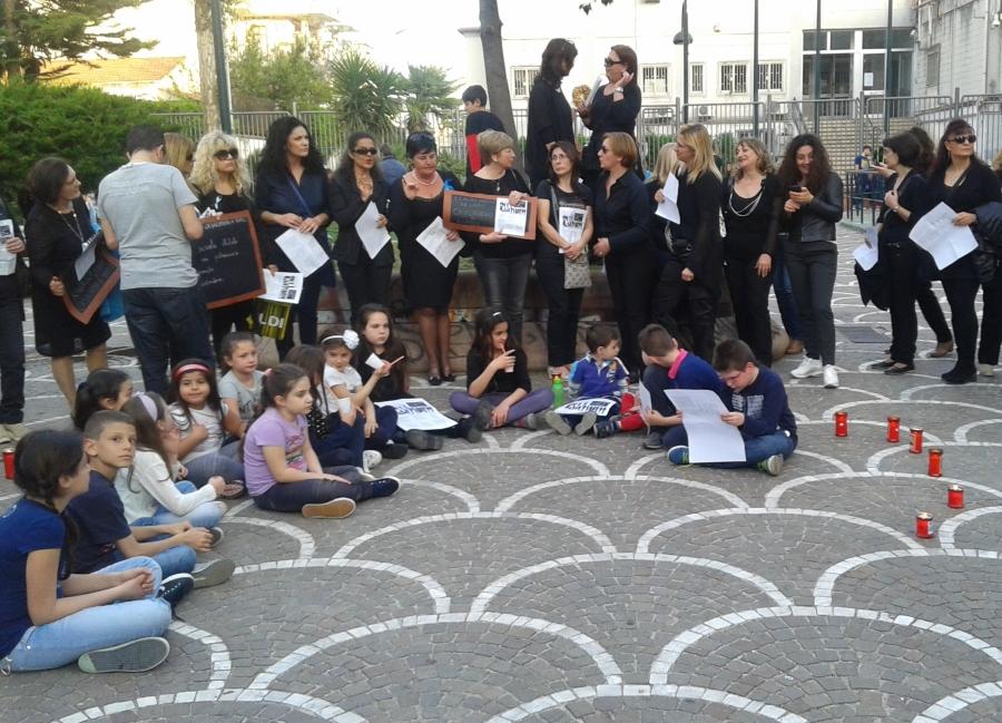 Flash mob a Casalnuovo