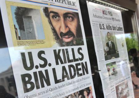 Giornali commentarono il raid degli USA.