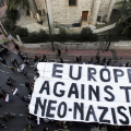 Manifestazione contro il neonazismo