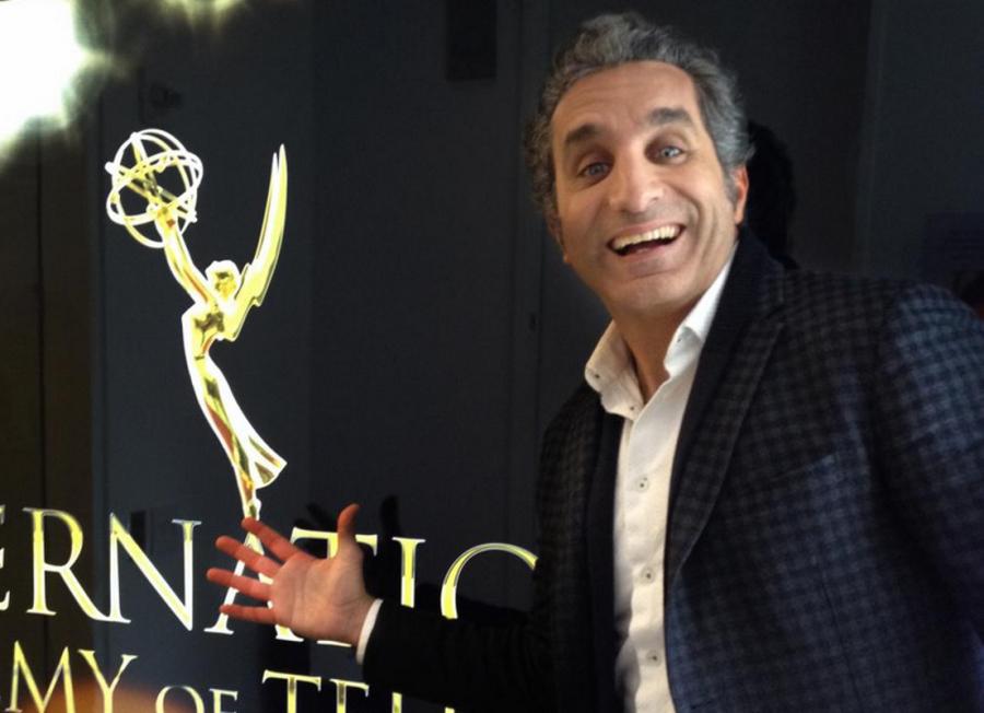 Il presentatore satirico egiziano Bassem Youssef