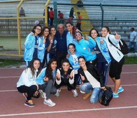 Squadra femminile dell'Atletica Marano