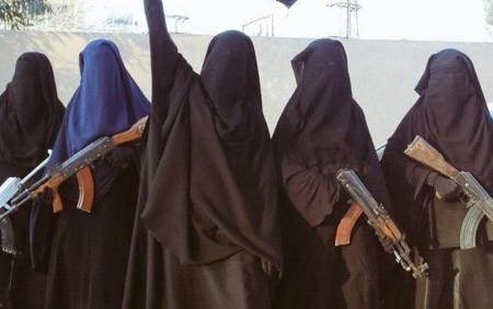Donne dell'ISIS su Twitter