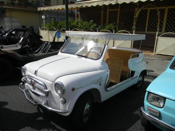 Fiat 600 Jolly modello 'Capri' - 1963