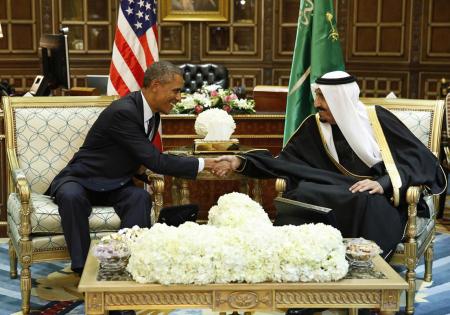 Obama e il socio arabo