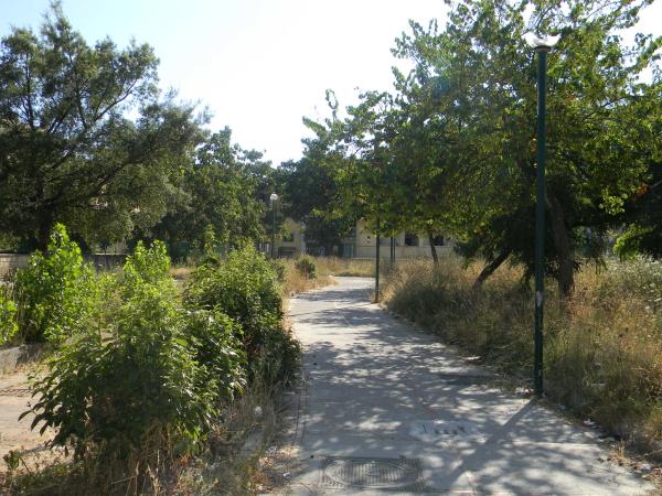 La 'giungla' della Villetta.