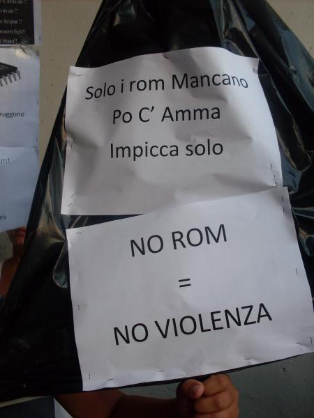 No Rom = No Violenza?