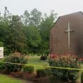 Chiesa Episcopale Metodista di Mt. Zion, South Carolina, ritrovata in fiamme dopo la strage di Charleston