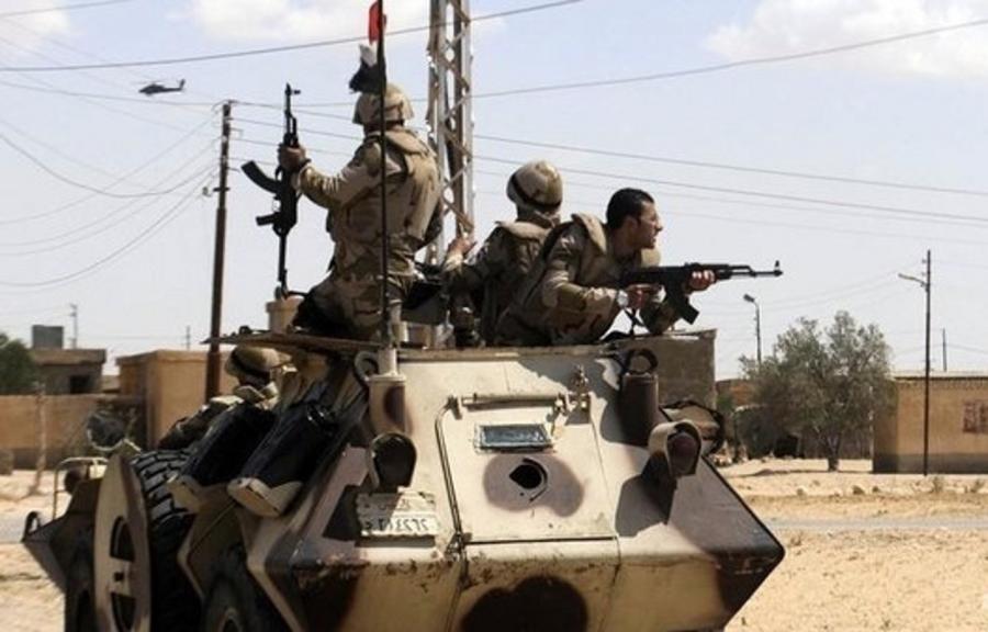Militari Egiziani in difesa del Sinai