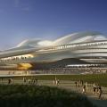 Il progetto per lo stadio Olimpico di Hadid