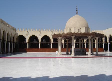 Moschea di Amr al Cairo, una delle prime dotate di CCTV