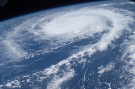Studio degli uragani dallo spazio