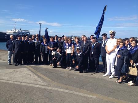 Associazione A.N.M.I. e capitaneria di porto Pozzuoli