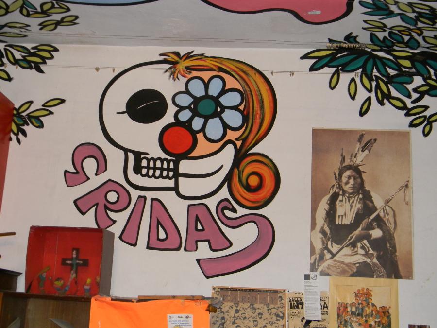 Gridas - Murales di Felice Pignataro. Le foto sono di Riccardo Bruno