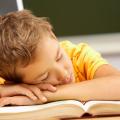 Bambini con problemi di sonno