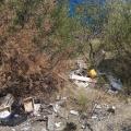 Rifiuti sversati lungo le strade della Costiera Amalfitana