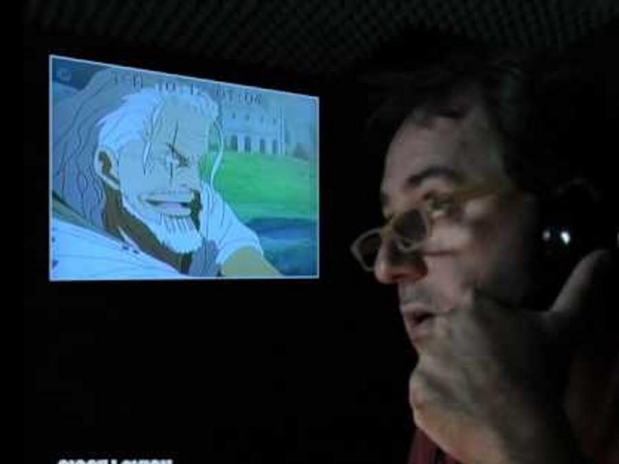 Sergio Romano, al doppiaggio del cartone animato One Piece