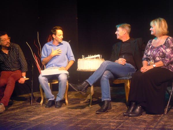Da sinistra: Rosario Ferro, Roberto Giordano, Arnolfo Petri e Monica Assante di Tatisso