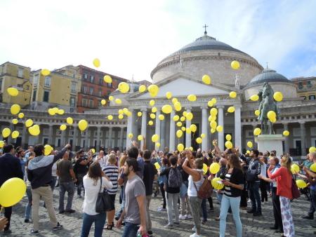 Palloncini in volo - Foto di Miriam Lanzetta