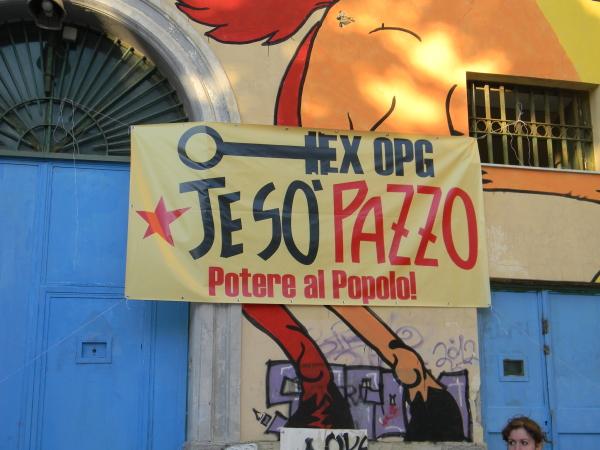 Ex OPG 'Je so' pazzo' - Le foto sono di Riccardo Bruno
