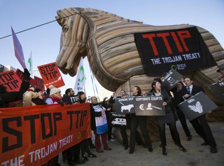 Manifestazione No TTIP.