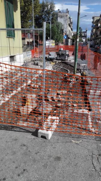 Madonna dell'Arco, lavori in corso nei punti sbagliati