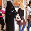 La varietà di abbigliamento delle donne egiziane
