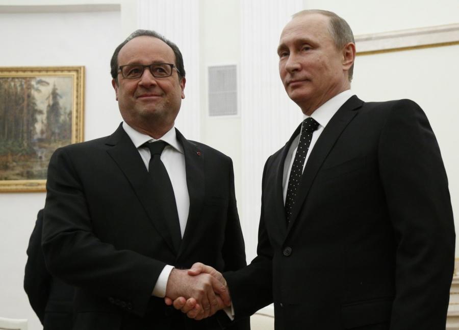 Putin e Hollande