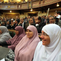 Donne egiziane in parlamento