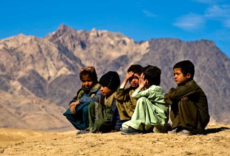 Bambini afghani