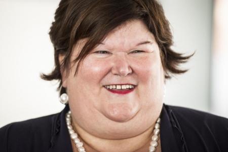 Donna in sovrappeso