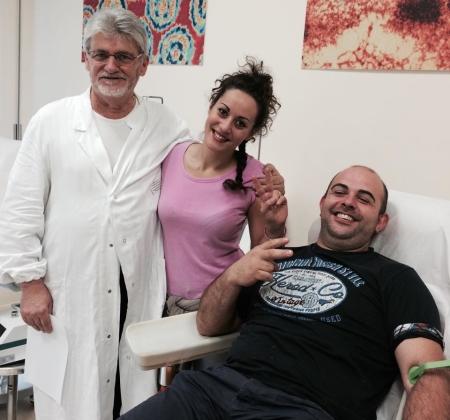 L'importanza di donare il sangue (Nella foto il Dott. Zuccaccia)